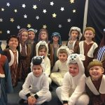 Year 1 and 2 Shepherds and Sheep in Everybody Loves A Baby